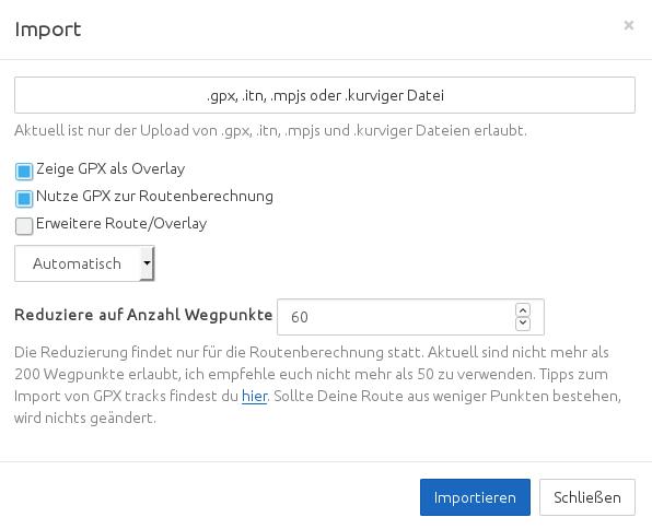 Export Garmin Shaping points - Website - Kurviger Forum
